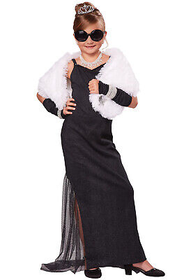 Red Carpet Starlet Hollywood Diva Child Costume