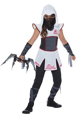 Brand New Fearless Ninja Warrior Girls Child Costume](Ninja Costumes Girls)