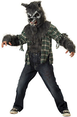 Big Bad Wolf Howling at the Moon Child Costume](Bad Wolf Costume)