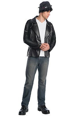 Riverdale Deluxe Jughead Jones Southside Serpents Adult Costume](Jughead Costume)