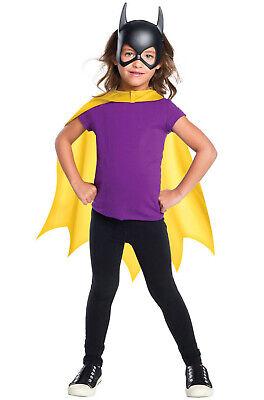 Brand New DC Comics Batgirl Cape and Mask Set - Batgirl Mask