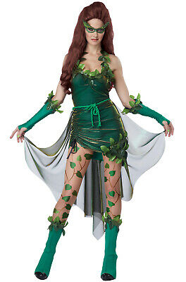 Brand New Sexy Lethal Beauty Poison Ivy Batman & Robin Adult Women Costume