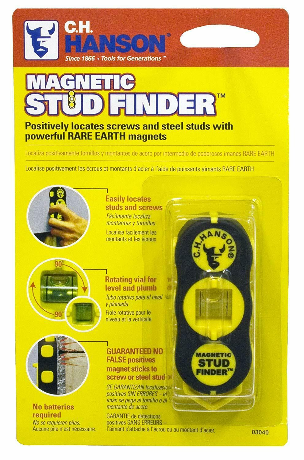 ch hanson 03040 magnetic stud finder free