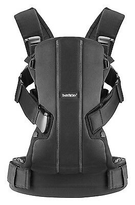 Baby Bjorn Carrier We in Black Cotton Mix Brand New!!