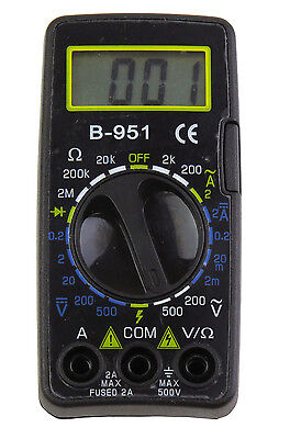 Tekpower B-951 Digital Mini Size Acdc Voltage Current Multimeter