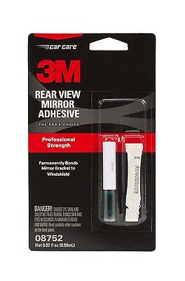 3M™ Rearview Mirror Adhesive, 08752, 0.02 fl oz