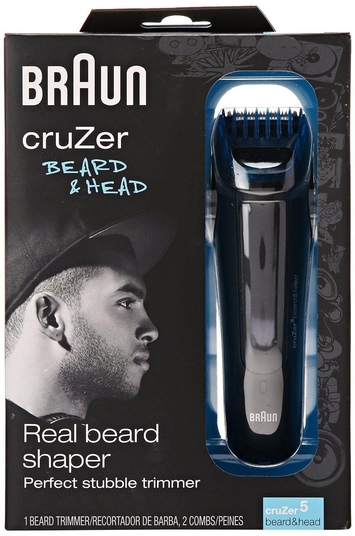 Braun Cruzer 5 Beard And Head Trimmer Hair Stubble Men's ...