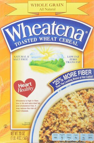 Wheatena Toasted Wheat Cereal  20 oz Pack of 4