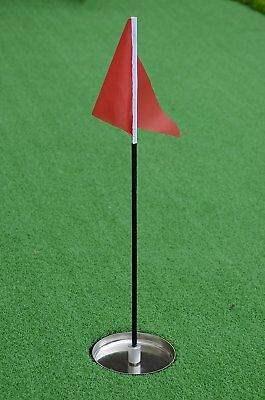 - golf flag and cup for golf putting green