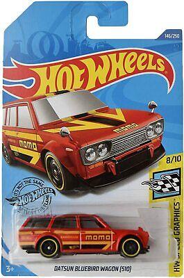 2020 Hot Wheels Datsun Bluebird Wagon [510] [Red] HW Speed Graphics
