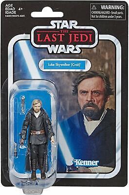 Star Wars The Vintage Collection Last Jedi Luke Skywalker Crait Action Figure