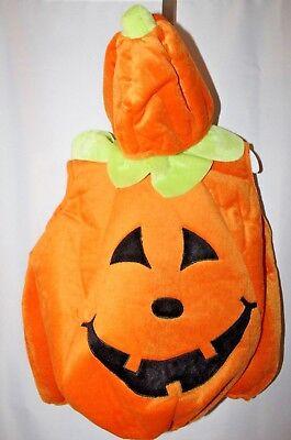 Baby Halloween Pumpkin (Pumpkin Infant Toddler Costume 12-18 Months Baby Fall Halloween Harvest Hat)