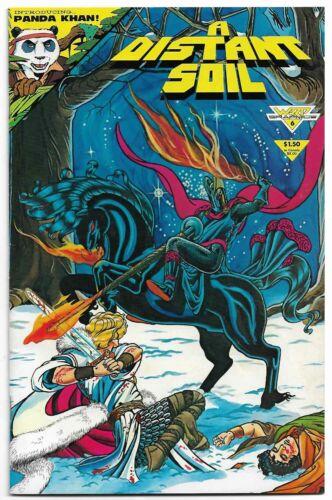 A Distant Soil #6 (June 1985, Warp Graphics Comics) 1st Panda Khan First App