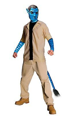 Jake Sully Avatar Costume - men standard size fits up to size 44 jacket - Sully Costume For Men