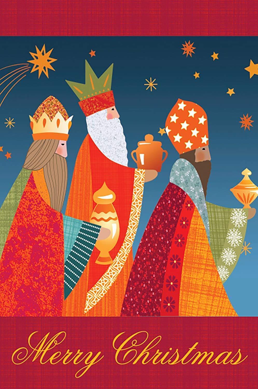 Morigins Merry Christmas Decor Santa Holy Night Double Sided