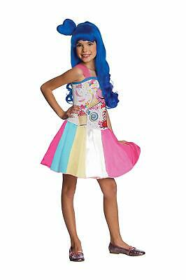 CHILD GIRLS KATY PERRY CANDY GIRL POP STAR SINGER COSTUME SIZE - Child Star Kostüm