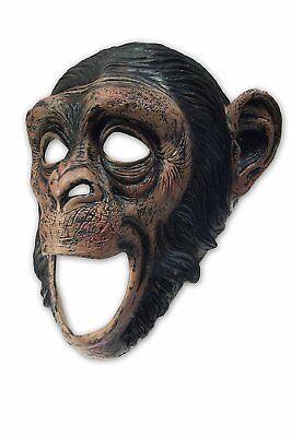 Moving Mouth Deluxe Schimpansen Latex Maske Affe passt perfekt
