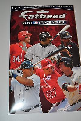 916ea8ede78 Fathead 2013 MLB Tradeables Pack (Includes 5 Random Tradeables)