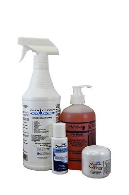 Pet Ringworm, Fungus Treatment Super Pack for Small Breed Dogs by PetsBestRX
