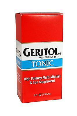 Geritol Tonic With Ferrex 18 - 4 Oz