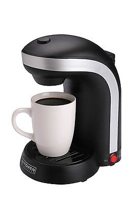 Caboose Selectives CM-688 1-Cup Single Serve Drip Coffee Maker, Black, New