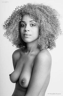 Black & White Fine Art Portrait signed 8.5x11 photo by Craig Morey: Verta 8929BW