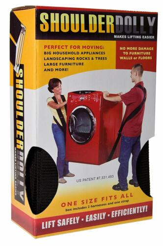 Heavy Lifting Moving Straps For 2 People - ShoulderDolly LD2000 800lb