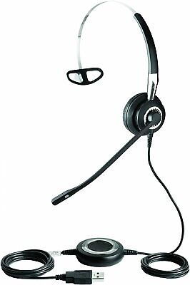 Jabra BIZ 2400 USB MS Mono Lync Optimized Corded Headset for Softphone and Mobil, used for sale  Shipping to India