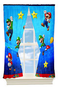 Mario Bros Curtains