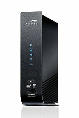 ARRIS SBG6950AC2 Docsis 3.0 Cable Modem AC1900 WiFi Router McAfee home security