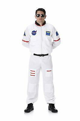 Space Suit Halloween Costume (Karnival Astronaut Nasa Space Flight Suit Adult Mens Halloween Costume)