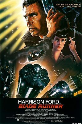 BLADE RUNNER MOVIE POSTER, USA Version,