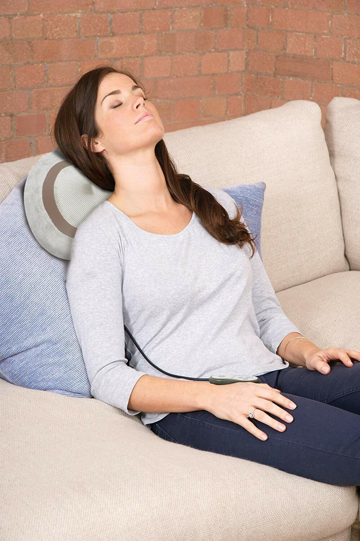 NEW Homedics gel shiatsu massage cushion. Neck, Back, Legs S