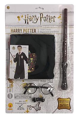 Rubie`s Harry Potter Kostümset Umhang Zauberstab Brille Kapuzenrobe