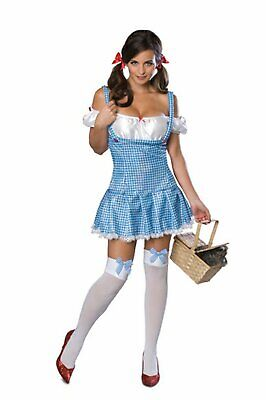 SEXY DOROTHY COUNTRY GIRL BEAUTY FAIRY TALE WOMAN'S FANCY DRESS COSTUME