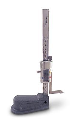 Digital Height Electronic Gauge Resolution Range Steel Scribe Reach Cast Base