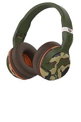 Skullcandy Hesh 2 Bluetooth 4 0 Wireless Headphones With Mic  Camo