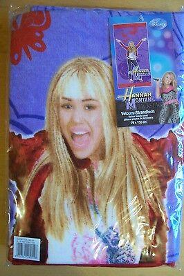 Hannah Montana Strandtuch (HANNAH MONTANA   Strandtuch Strandlaken