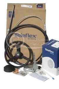 New 150hp +  Teleflex (Seastar)  Complete Boat Steering Kit - 15 Ft
