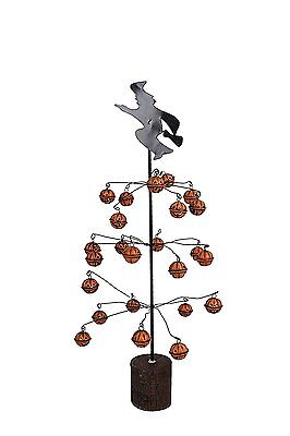 Tree with Mischief Witch Bell Ornaments Holiday & Seasonal  Halloween fall Decor