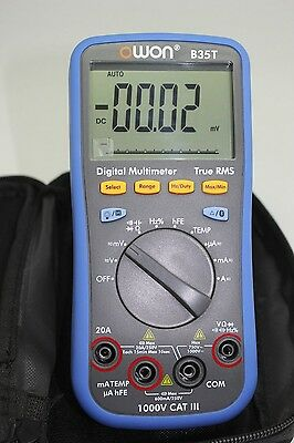 Owon 3-in-1 B35t Multimeter With True Rms Measurement Bluetooth Ble 4.0