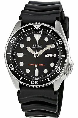 NEW Seiko Men's SKX007K Diver's Automatic Watch Rubber Band w Box F/S EMS Japan