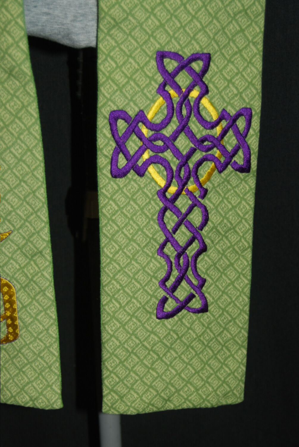 Pastor Stole Holy, Holy, Holy with Celtic Cross or custom design one 4 you