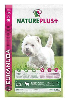 Eukanuba Nature Plus Dog Food Small Breed With Freshly Frozen Lamb, 2.3 Kg