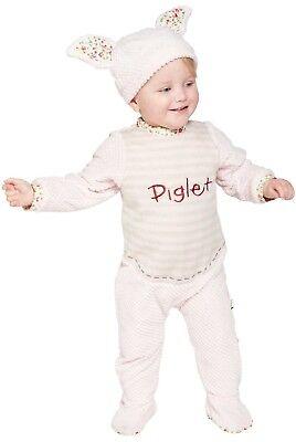 Baby Jungen Mädchen Vintage Disney Ferkel Strampler Süß Kostüm Kleid Outfit ()