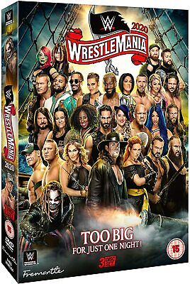 WWE: WrestleMania 36 New DVD Box Set / Free Delivery