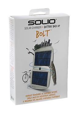 Solio Bolt Battery Pack Solar Charger SUN power portable battery bank camping