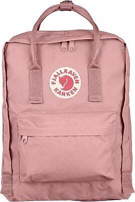 Fjällräven Kanken 16L Wander und Freizeit Rucksack mit Sitzkissen Backpack- Pink