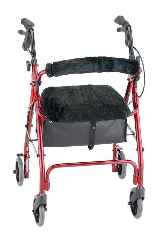 Rollator Walker Seat Back Cover Style Medical Mobility Equip