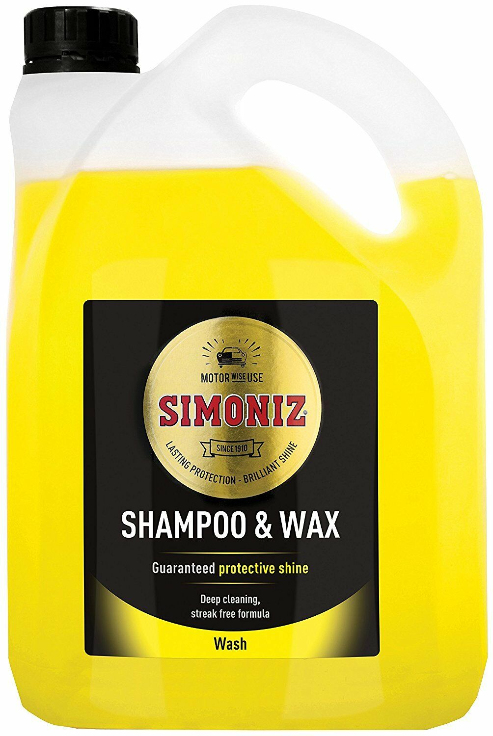 2L LITRE SIMONIZ WASH & WAX POLISH BODYWORK SHAMPOO CLEANER CAR